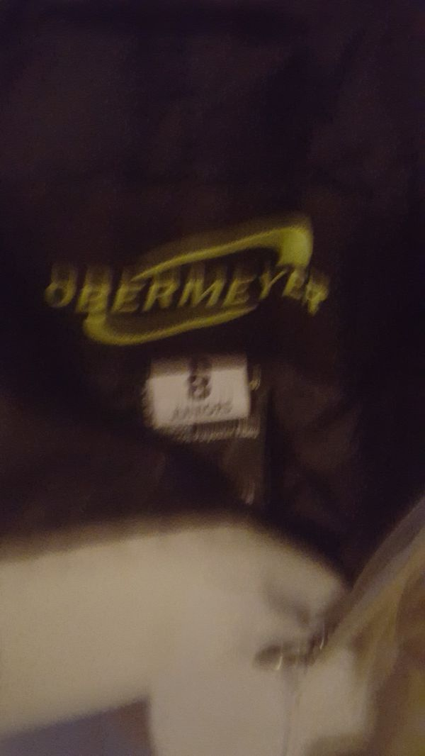 Obermeyer Hydro Blok kids snow pants size 8 Gray