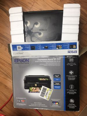 Printer! Epson printer! In the box! ALL IN ONE printer!! Copy,scan,print WiFi! OBO for Sale in Canton, MI