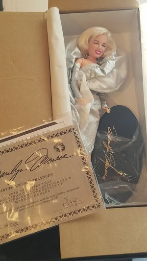 Marilyn monroe doll for Sale in Upland, CA