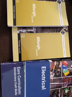 Nccer books obo or trades for Sale in Pasadena, TX
