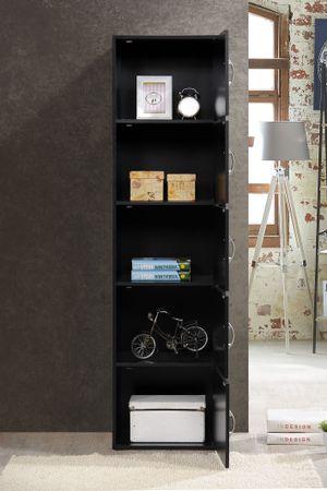 Hodedah 5-Shelf, 5-Door Multipurpose Cabinet, for Sale in Houston, TX
