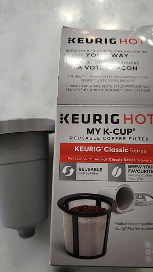 2 Keurig K-Cup reusable coffee filters (for classic series) for Sale in Centreville, VA