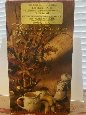 Weight Management Lifestyle System VHS 📼 Vintage for Sale in Albuquerque, NM