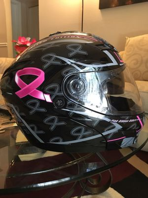 gmax pink ribbon riders modular helmet for Sale in Cary, NC