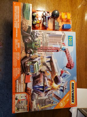 Toy New Matchbox Downtown Demolition Playset for Sale in Naperville, IL