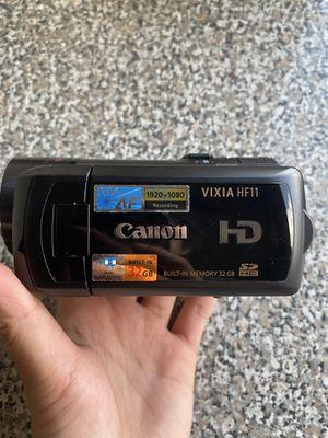 Canon Vixia HF11 32 GB AVCHD Camcorder for Sale in Chattanooga, TN
