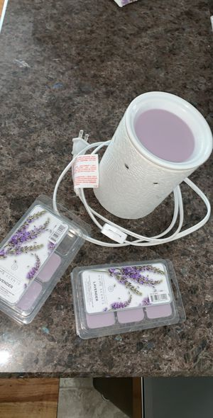 Scentsy was warmer white lace with wax scents for Sale in Portland, OR
