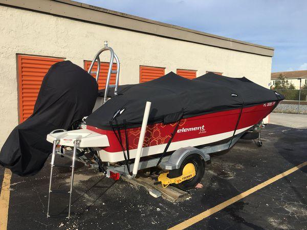boat bayliner element xl 2015