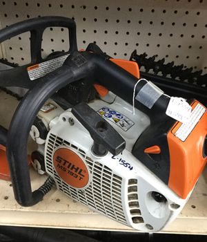Stihl 14 inch arborist chainsaw MS 193T for Sale in Pasadena, TX