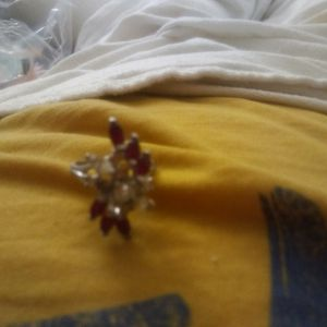 $20, Sterling Silver Ring With Nice Rubies + for Sale in Santa Clara, CA