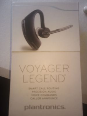 Plantronics Voyager Legend Bluetooth Headset Retails for over $100 for Sale in Monrovia, CA