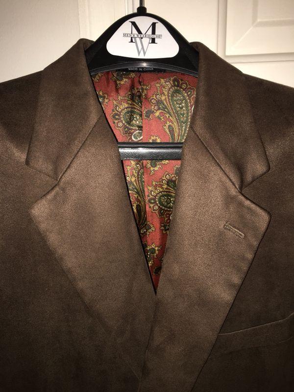 Three Men's Sport Coats Size 42L (Ralph Lauren, Nautica, Chaps)