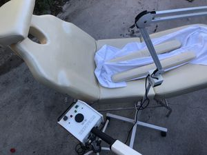 Facial, massage chair. Magnify lamp, facial steamer for Sale in Pasadena, CA