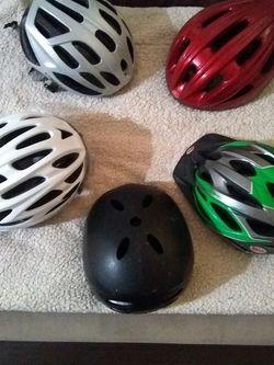 Bike Helmets (5) for Sale in Washington,  DC