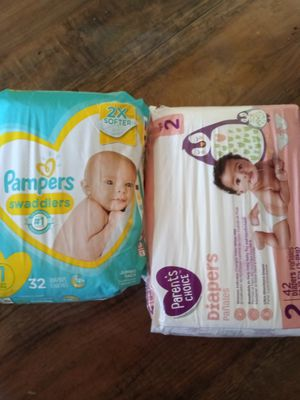Size 1 and 2 Diapers for Sale in San Diego, CA