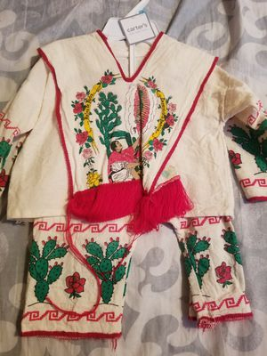Baby boy mexican set size 3-6months for Sale in Porterville, CA