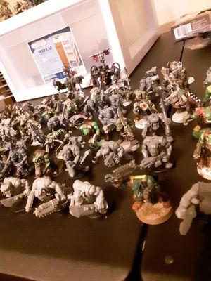 69 random ork boyz with warboss and ghazkull thraka for Sale in Glendale, AZ