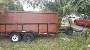 6×12 tandem axle utility trailer for Sale in Miami, FL