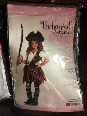 Halloween pirate costume size 3t-4t and 4-6 for Sale in North Miami Beach, FL