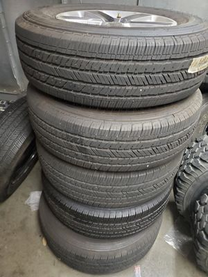 Jeep JL Saharah Wheels/ tires for Sale in Lewisville, TX