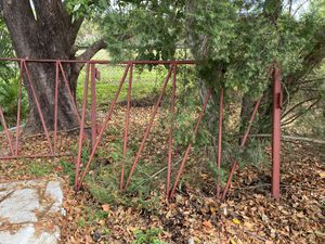 Iron gate. 2pc. -8ft x 6 ft tall. Was special made. for Sale in Riviera Beach, FL