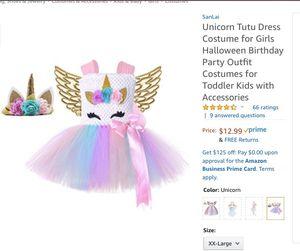 Unicorn Tutu Costume for Sale in Ontario, CA