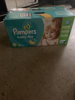 Pampers Size 6 for Sale in Queens, NY