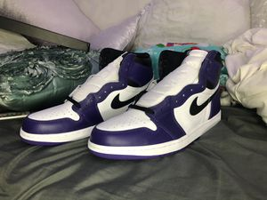 Jordan 1 Court Purple 2.0 for Sale in Tampa, FL