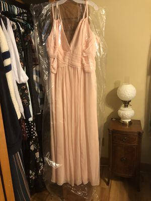 Ballet pink bridesmaid or prom dress. Size 14 and 6 for Sale in Raleigh, NC