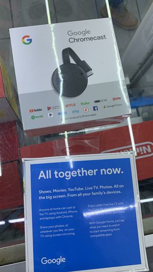 Google chromecast Brand new sealed with 1 year warranty for Sale in The Bronx, NY