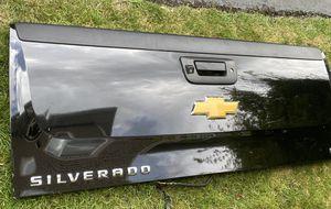 Chevy Silverado tailgate black 2008-2013 for Sale in Auburn, WA