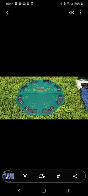 Casino Dealers Choice Fold Out Poker Table (Pre-Owned) for Sale in Miami, FL