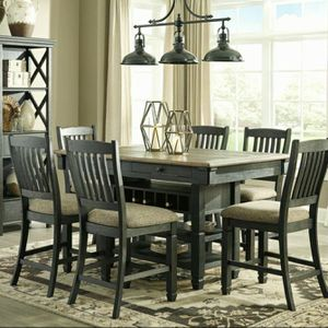 🦋$39 Down Payment 💥Tyler Creek Black/Gray Counter Height Set | D736 by Ashley for Sale in Jessup, MD