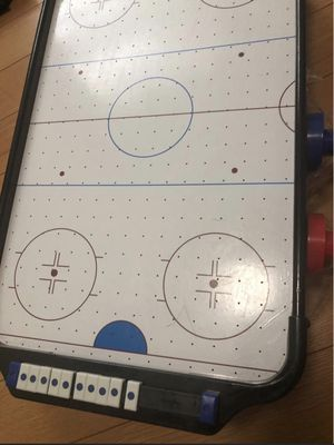 Mini Air hockey table floor game for Sale in Sterling, VA