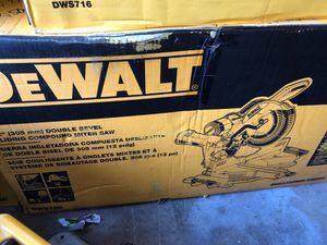 """Miter saw brand new 12"""" bevel sliding for Sale in Santa Ana, CA"""