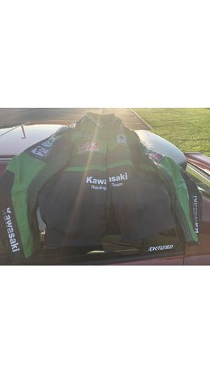 Kawasaki Motorcycle racing jacket for Sale in Brandon, FL