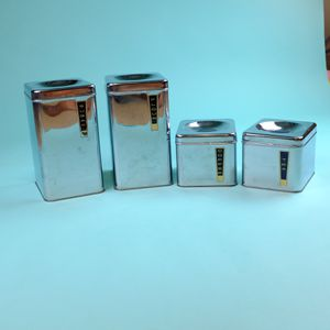 Vintage flour sugar tea coffee canister set for Sale in Lynbrook, NY