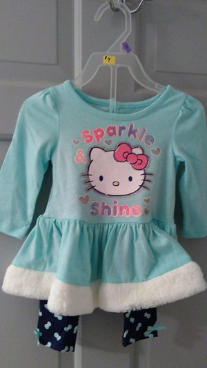 Girl Hello Kitty, 2 pieces pants and top for Sale in Cleveland Heights, OH