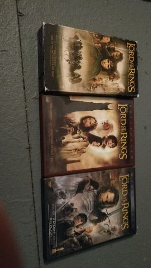 Lord of the rings collection for Sale in Missoula, MT