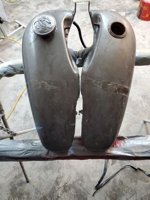 Harley split gas tanks. for Sale in Bothell, WA