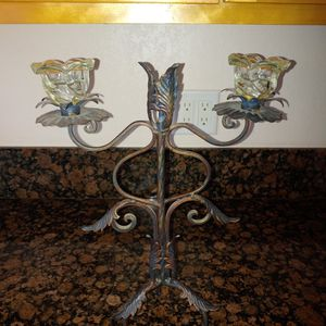 Set Of Two Antique Candle Holder for Sale in Riverside, CA