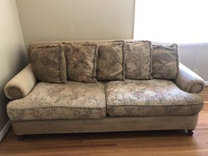 Pottery Barn style Sofa, great condition, down/feather pillows for Sale in Nashville, TN