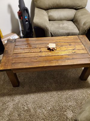 Wood coffee table for Sale in San Angelo, TX