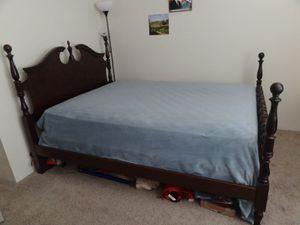 Solid Cherry Wood Queen Bedroom Set for Sale in Nashville, TN
