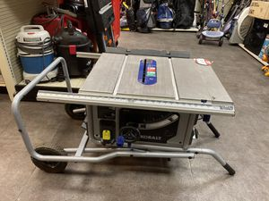 Kobalt table saw for Sale in Las Vegas, NV