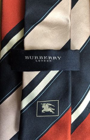 Burberry Red & Blue Regimental Stripe Tie ($190 Retail) for Sale in San Diego, CA