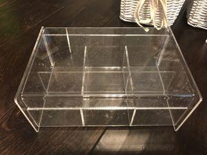 Clear acrylic organizer for Sale in Gilbert, AZ