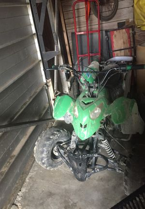 Four wheeler it is Nonworking but it is a very nice motorcycle but it might need some new tires and we put some new chain on but I think if you like for Sale in Fresno, CA