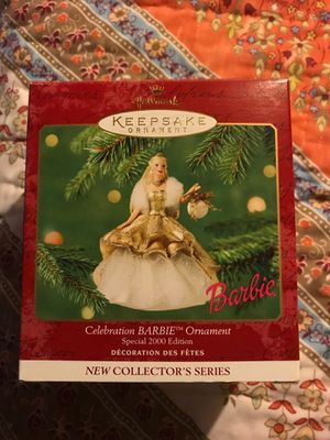 Hallmark Keepsake ornament Celebration Barbie Special 2000 Edition new in box for Sale in Kannapolis, NC