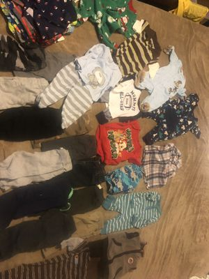 Baby boys clothes. for Sale in Port St. Lucie, FL